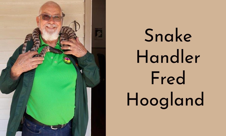 Snake Handler: Fred Hoogland